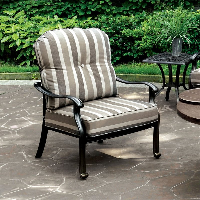 bowery hill outdoor patio chair set of 2