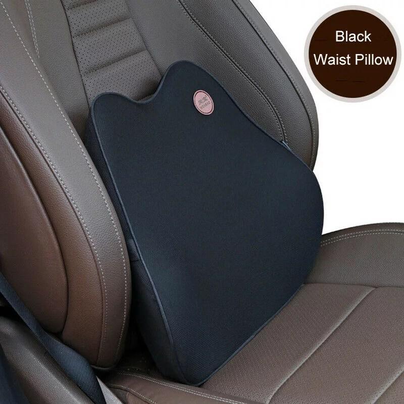 memory foam cushion lumbar support cushion for car seat back chair pillow back support cushion