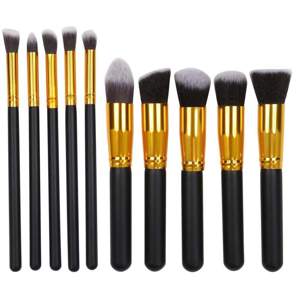yaheetech professional makeup brush set 10 pcs