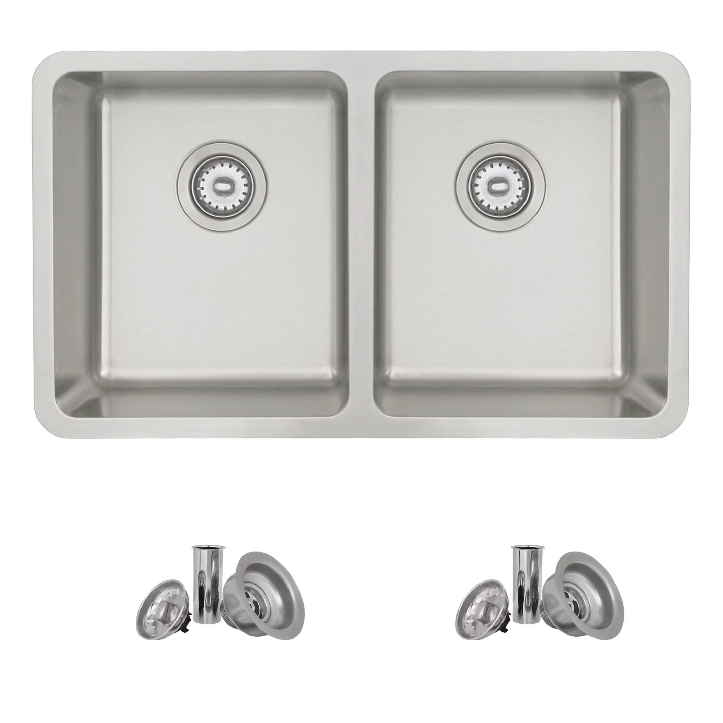 30 Inch Dual Mount Kitchen Sink Walmart Canada