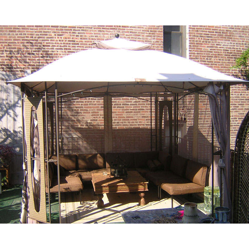 garden winds replacement canopy for west palm valley gazebo