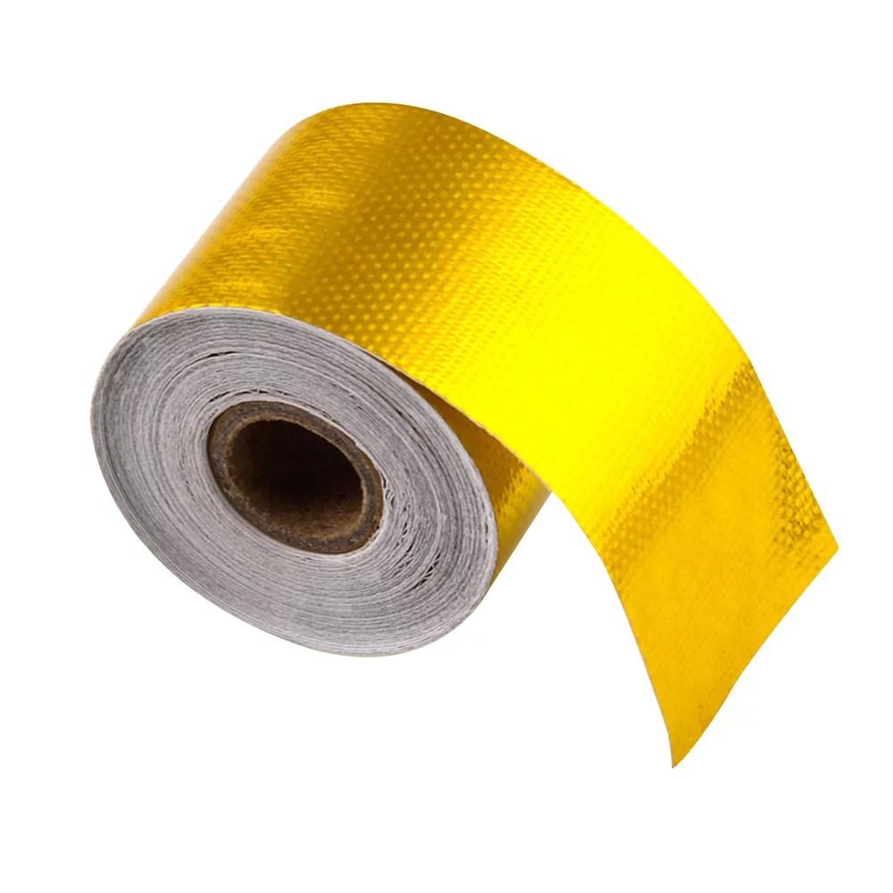 33ft x 2 inch gold exhaust air intake heat shield wrap heat barrier tape
