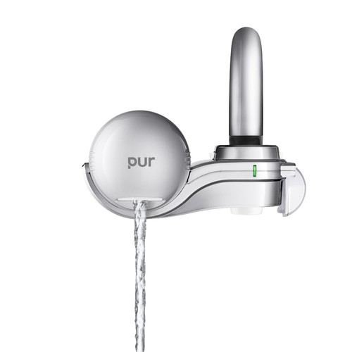 pur faucet water filter fm 9100b silver matte and chrome