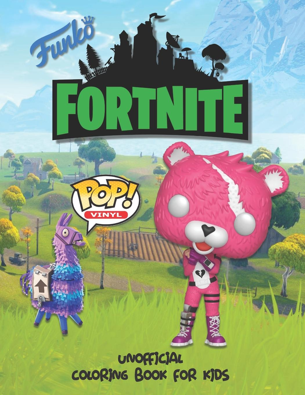 Funko Fortnite Unofficial Coloring Book For Kids Perfect For Preschooler And Young Children Of All Ages Paperback Walmart Com Walmart Com