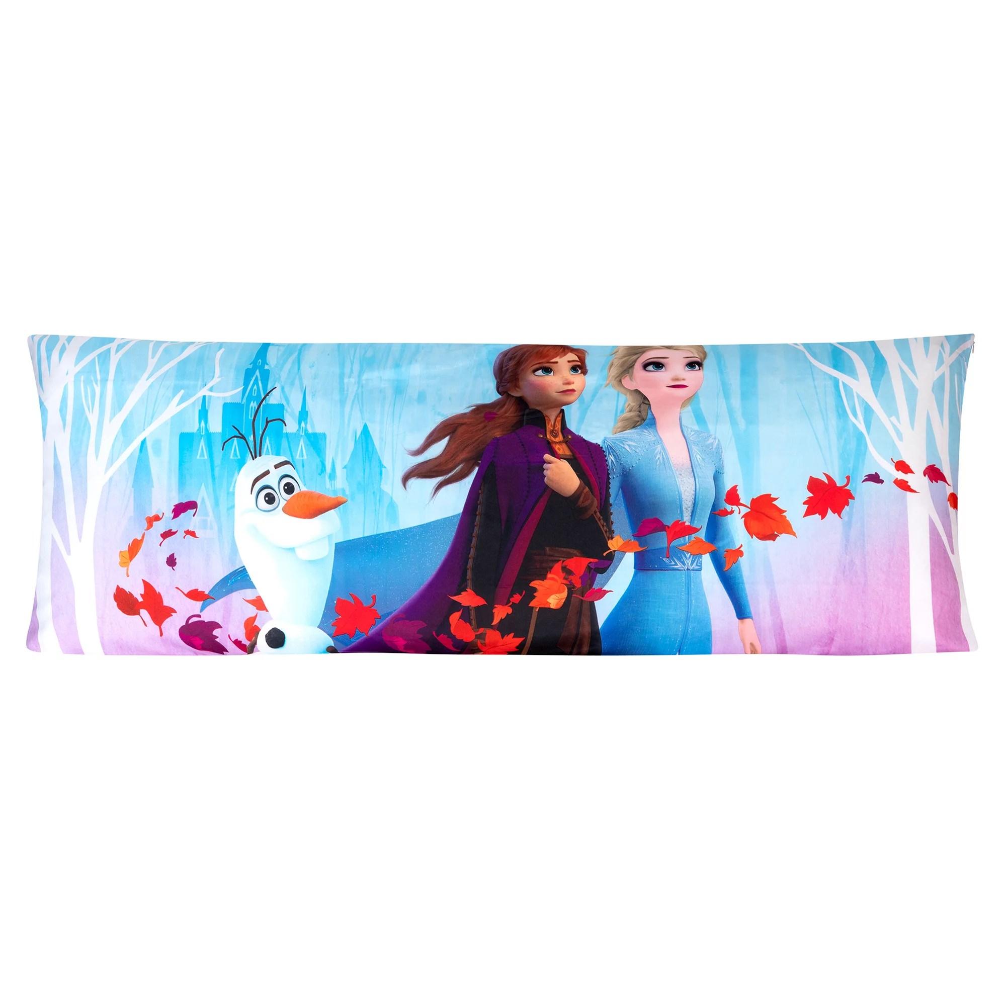 frozen 2 body pillow cover with zipper kids bedding 20 x54