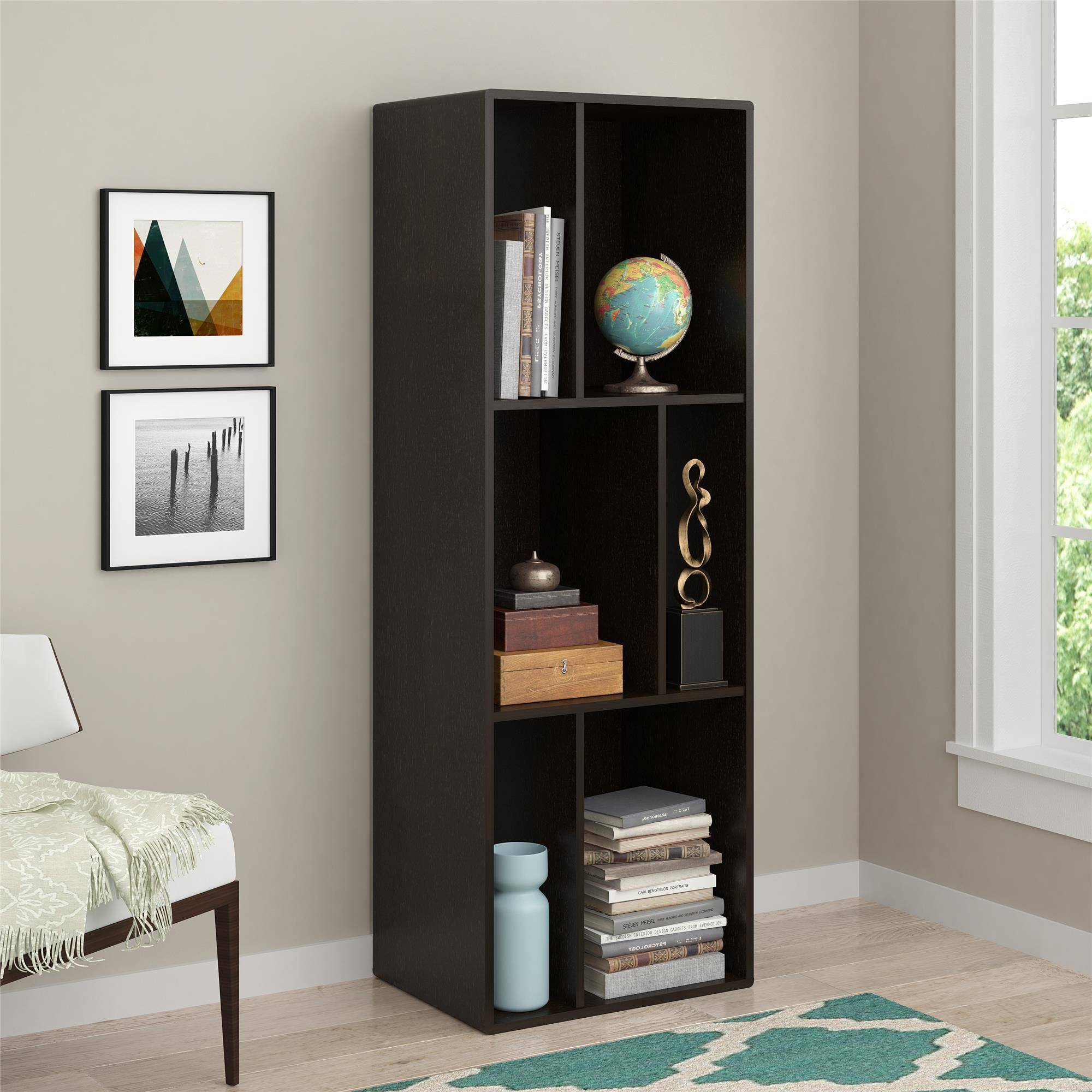Ameriwood Home Nash Bookcase Tv Stand For Tvs Up To 60