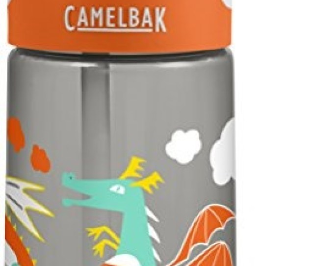 Camelbak Eddy Kids Back To School Water Bottle Dragon 0 4 L