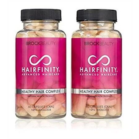 brock beauty hairfinity healthy hair vitamins 120 capsules 2 months supply walmart