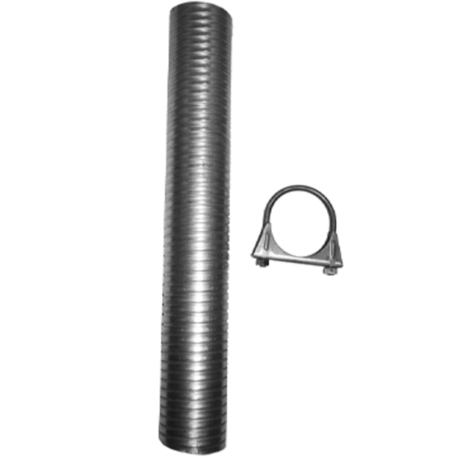 nickson 17032 exhaust system repair kit use to repair small sections of exhaust pipe flexible steel tubing 1 7 8 inch diameter x 18 inch length