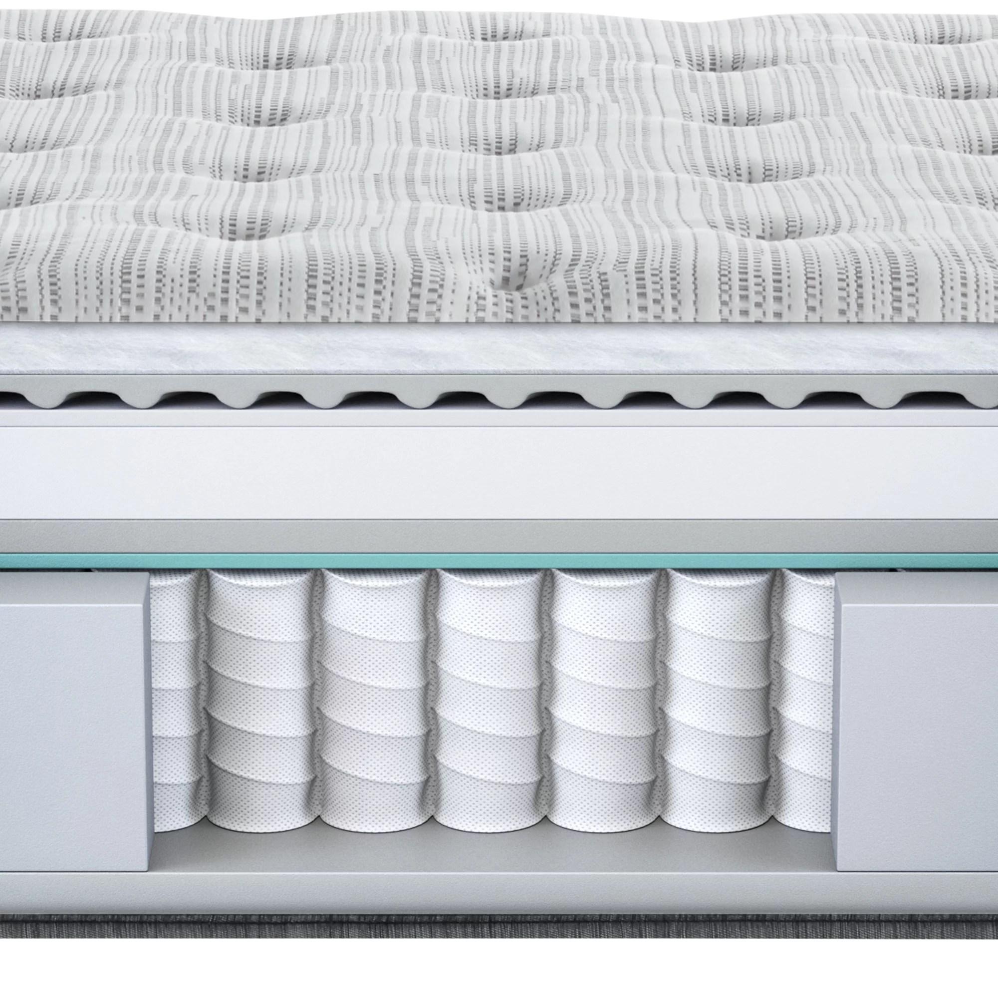 beautyrest silver brs900 medium pillow top queen mattress