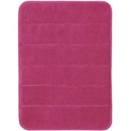 mainstays memory foam bath rug - walmart