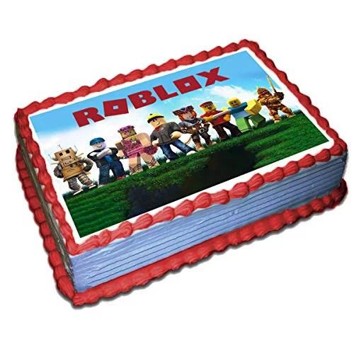 Blocks Blox Edible Cake Topper Icing Sugar Paper 8 5 X 11 5 Inches Sheet Edible Birthday Cake Topper Walmart Com Walmart Com