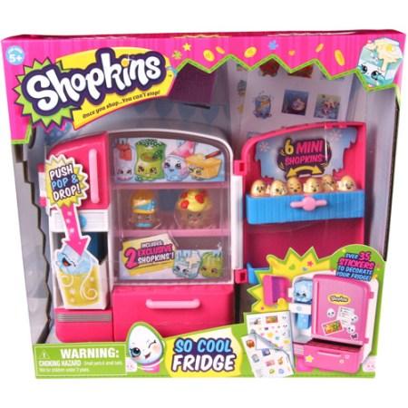 Shopkins Series 2, So Cool Fridge Play Set - Walmart.com