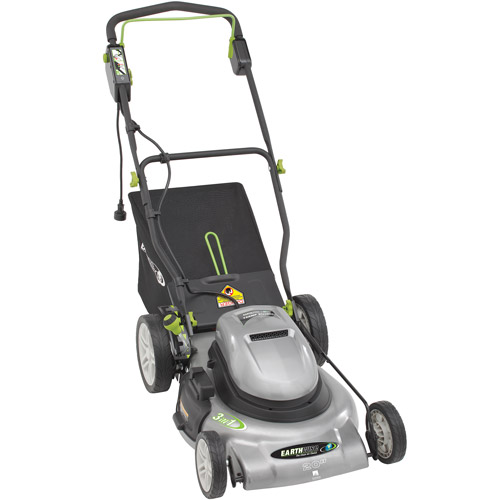 """Earthwise 60220 24-Volt 20"""" Cordless Electric Lawn Mower"""