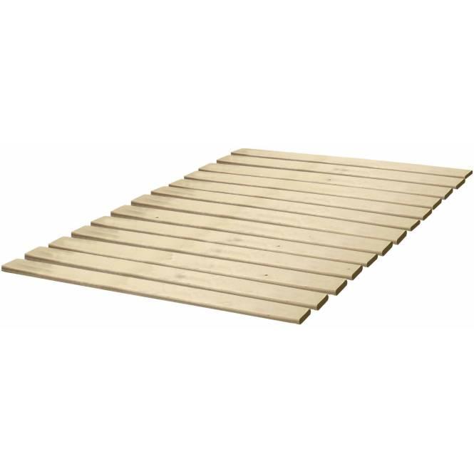 Sleep Master Myeuro Smartbase Wooden Slat Mattress Foundation Platform Bed Frame Box Spring Replacement Twin