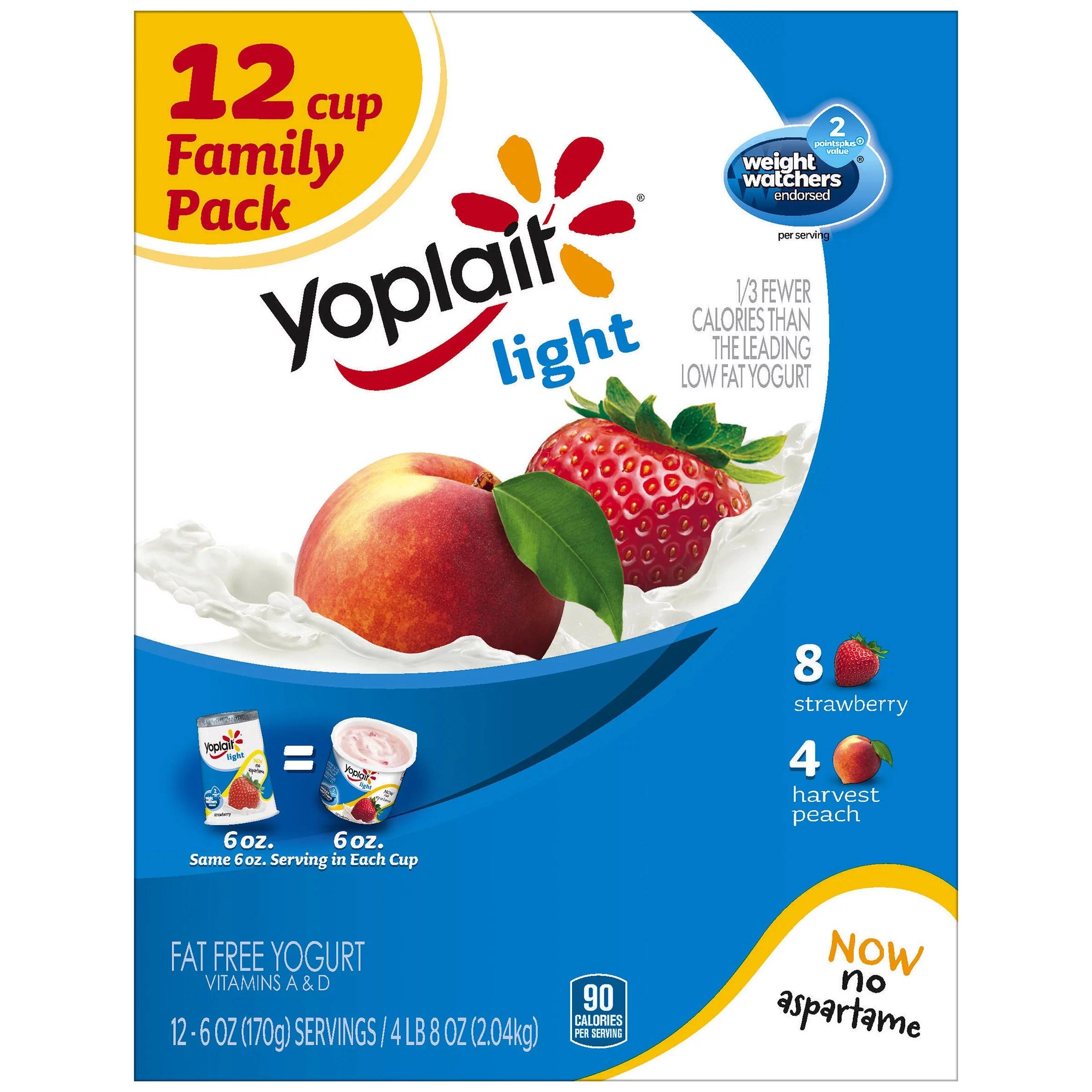 Yoplait Light Calories