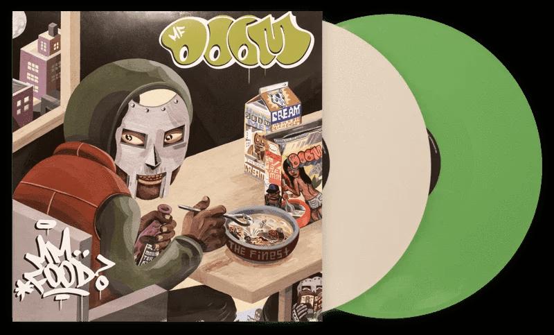 mm food mf doom white green vinyl lp vg walmart com