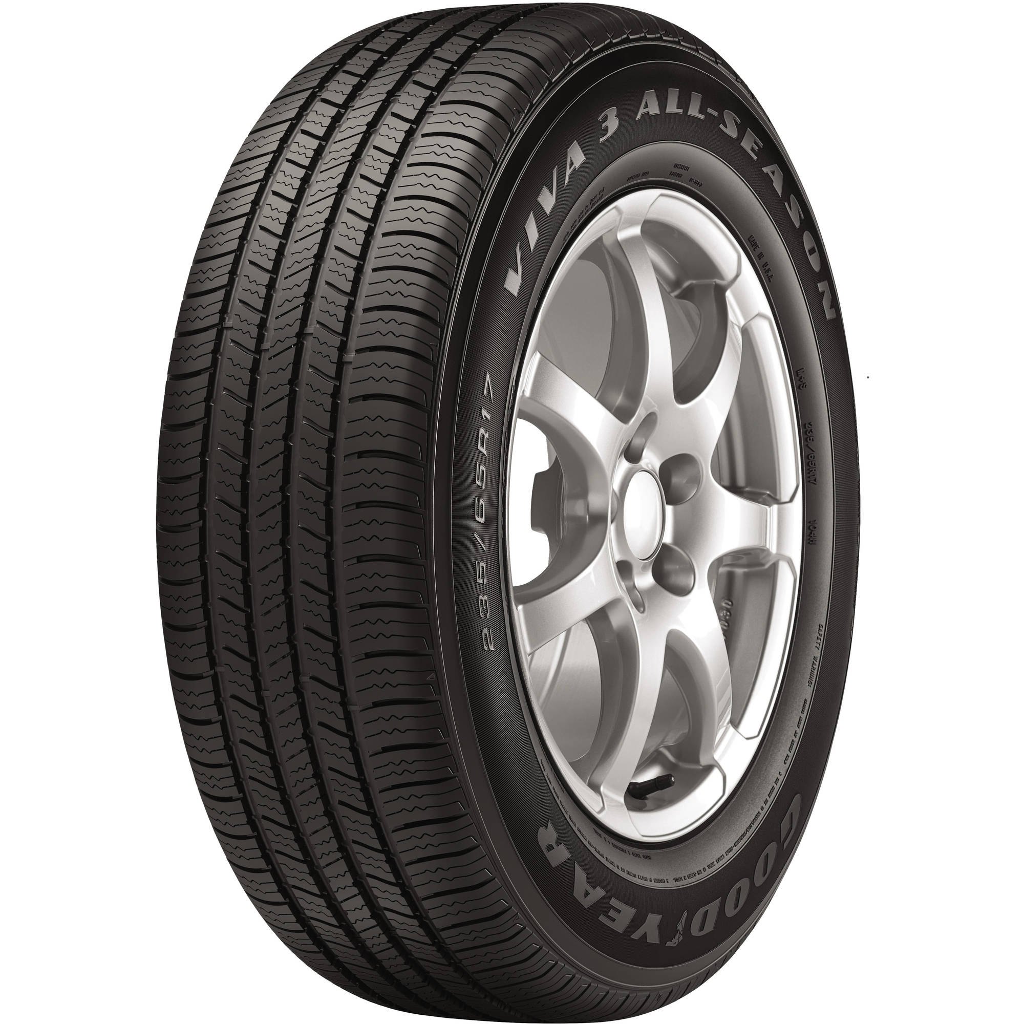 Continental TrueContact 235 65R16 103T BSW Touring tire Walmart