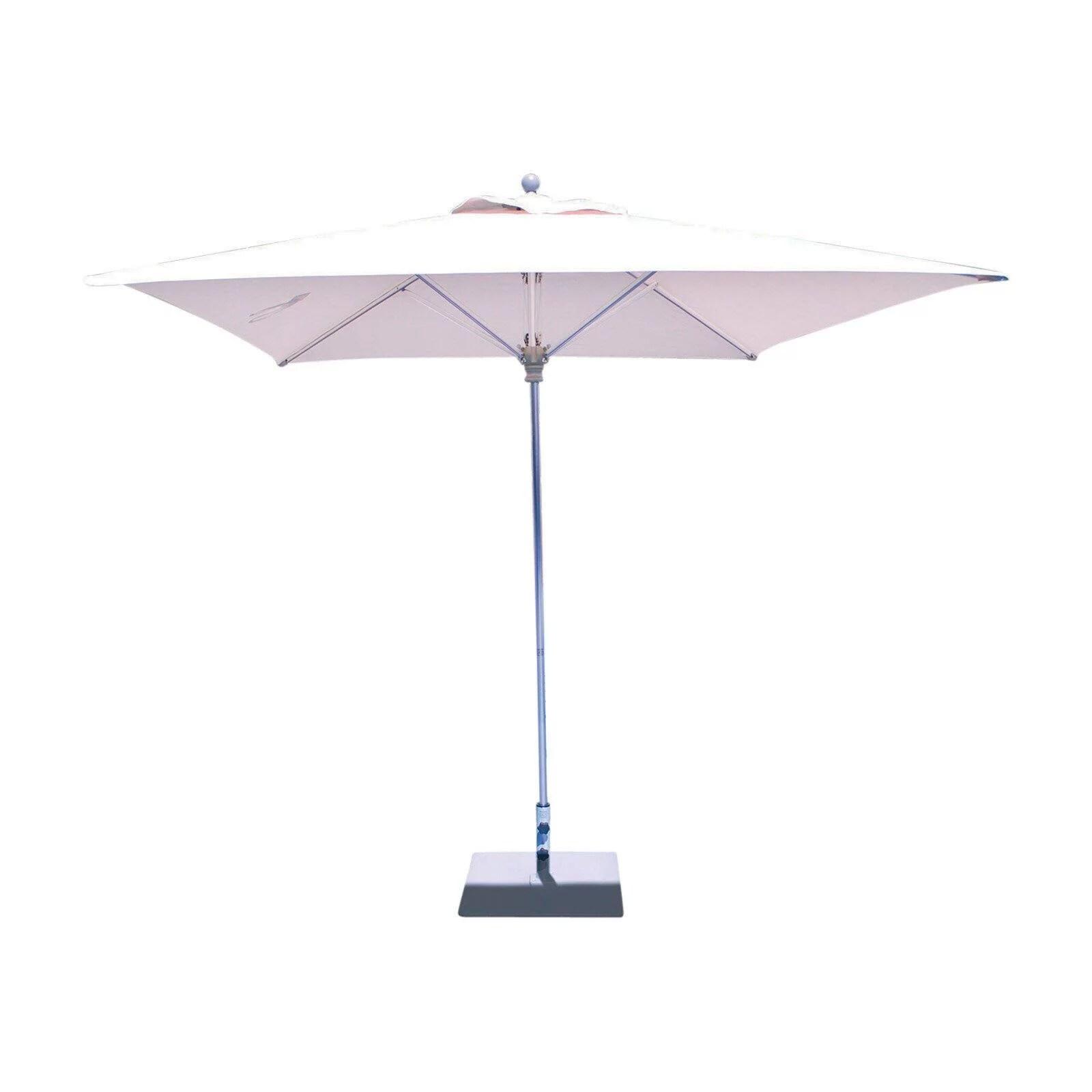 galtech 8 ft square deluxe sunbrella commercial aluminum patio umbrella walmart com