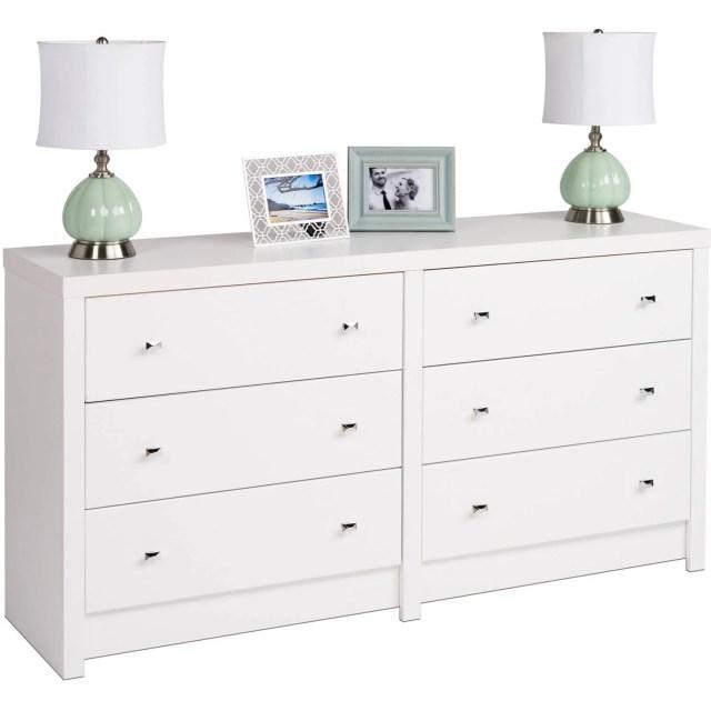Prepac Calla 6 Drawer Dresser Walmart