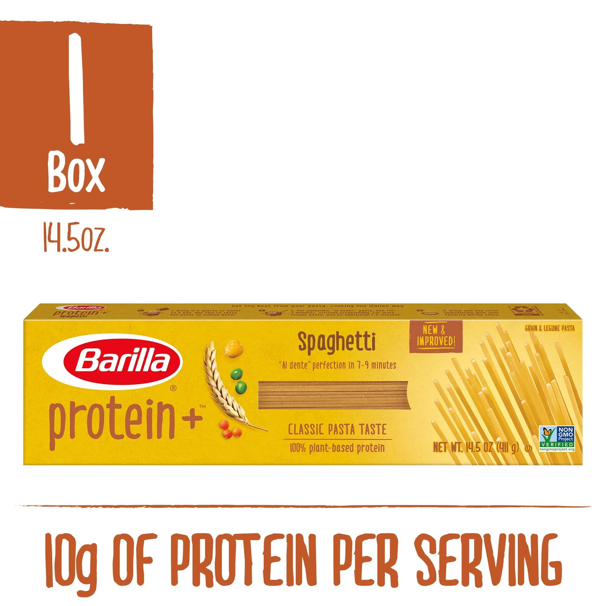 barilla protein grain legume spaghetti pasta 14 5 oz