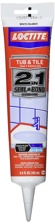 loctite 1510314 gloss white polyseamseal tub and tile sidekick display 5 5 oz