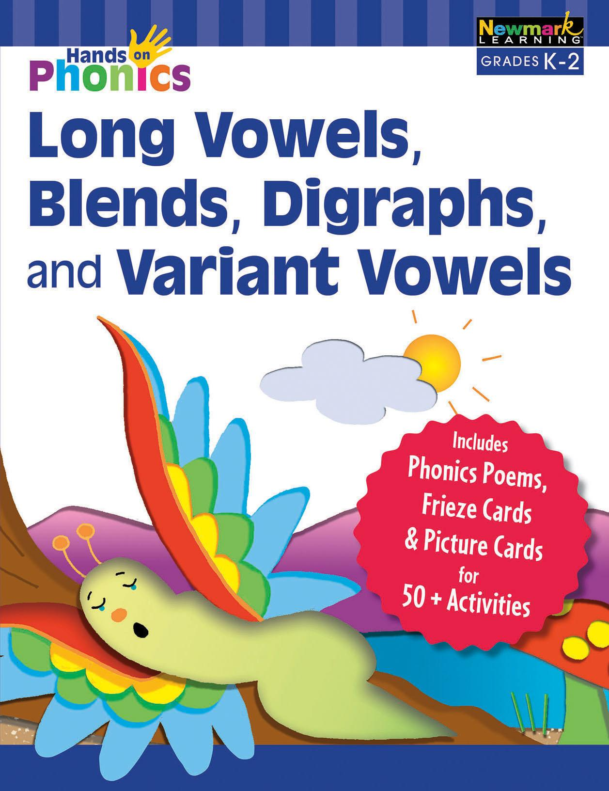 Hands On Phonics Long Vowels Blends Digraphs And