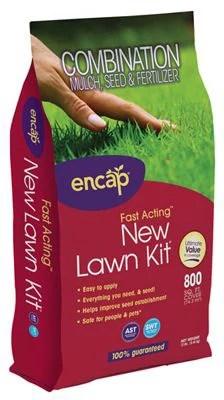 Encap 10740-4 800-Sq. Ft. 12-Lb. Northern/Sunshade Mix Lawn Kit