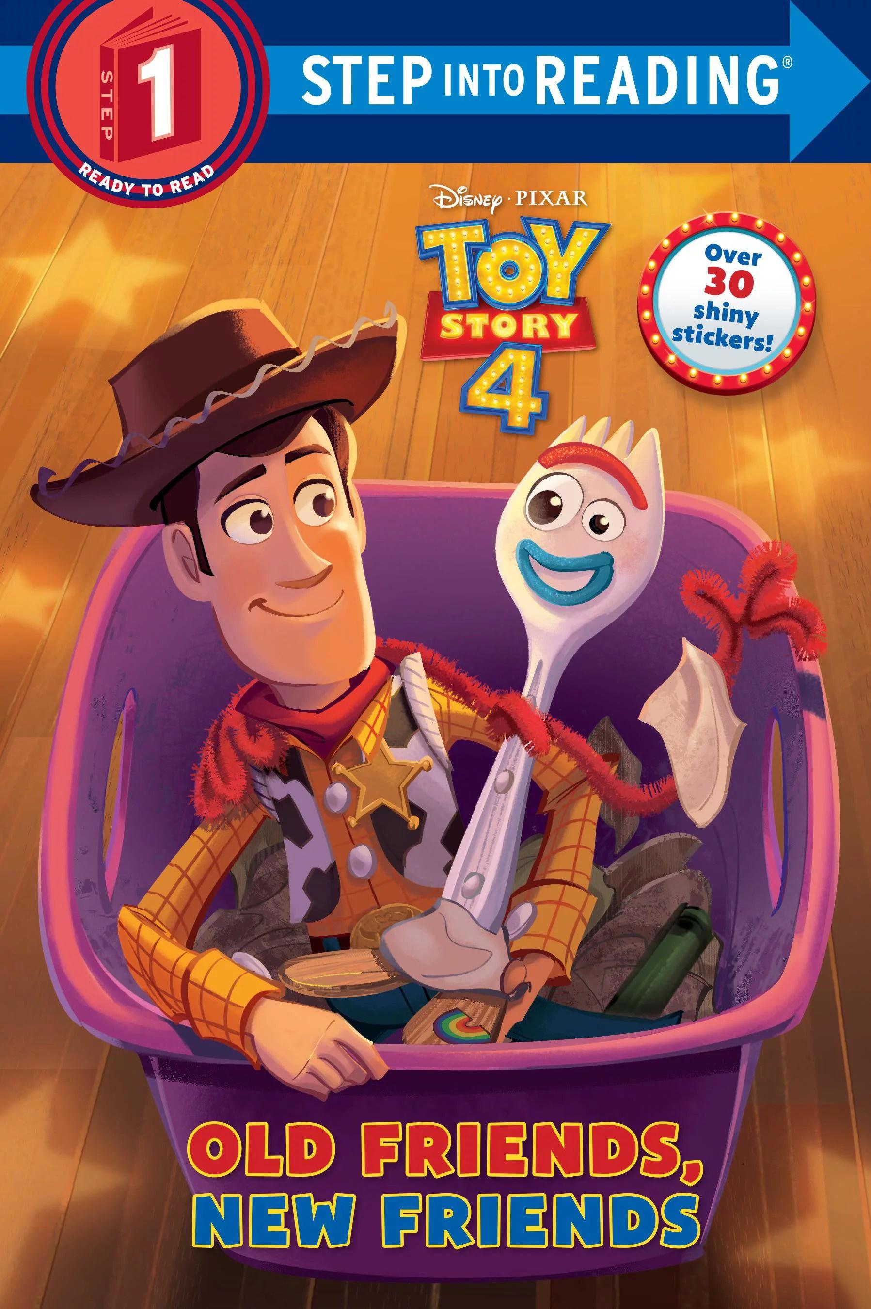 Old Friends New Friends Disney Pixar Toy Story 4