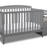 Delta Children Royal 4 In 1 Convertible Baby Crib And Changer Grey Walmart Inventory Checker Brickseek