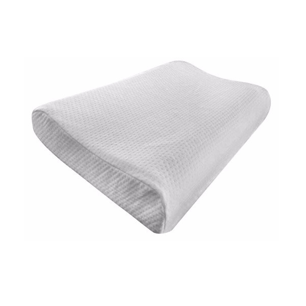 contour memory foam pillow orthopedic pillow for neck pain relief