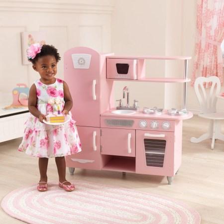 KidKraft Vintage Play Kitchen - Pink