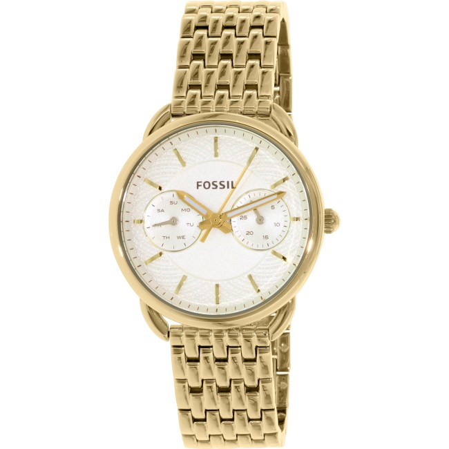 Fossil Women's Tailor ES3714 Gold Stainless-Steel Quartz Fashion Watch