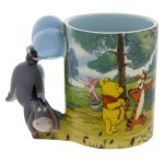 Disney Parks Winnie The Pooh Caracter Handle Eeyore 12oz Coffee Mug New Walmart Com Walmart Com