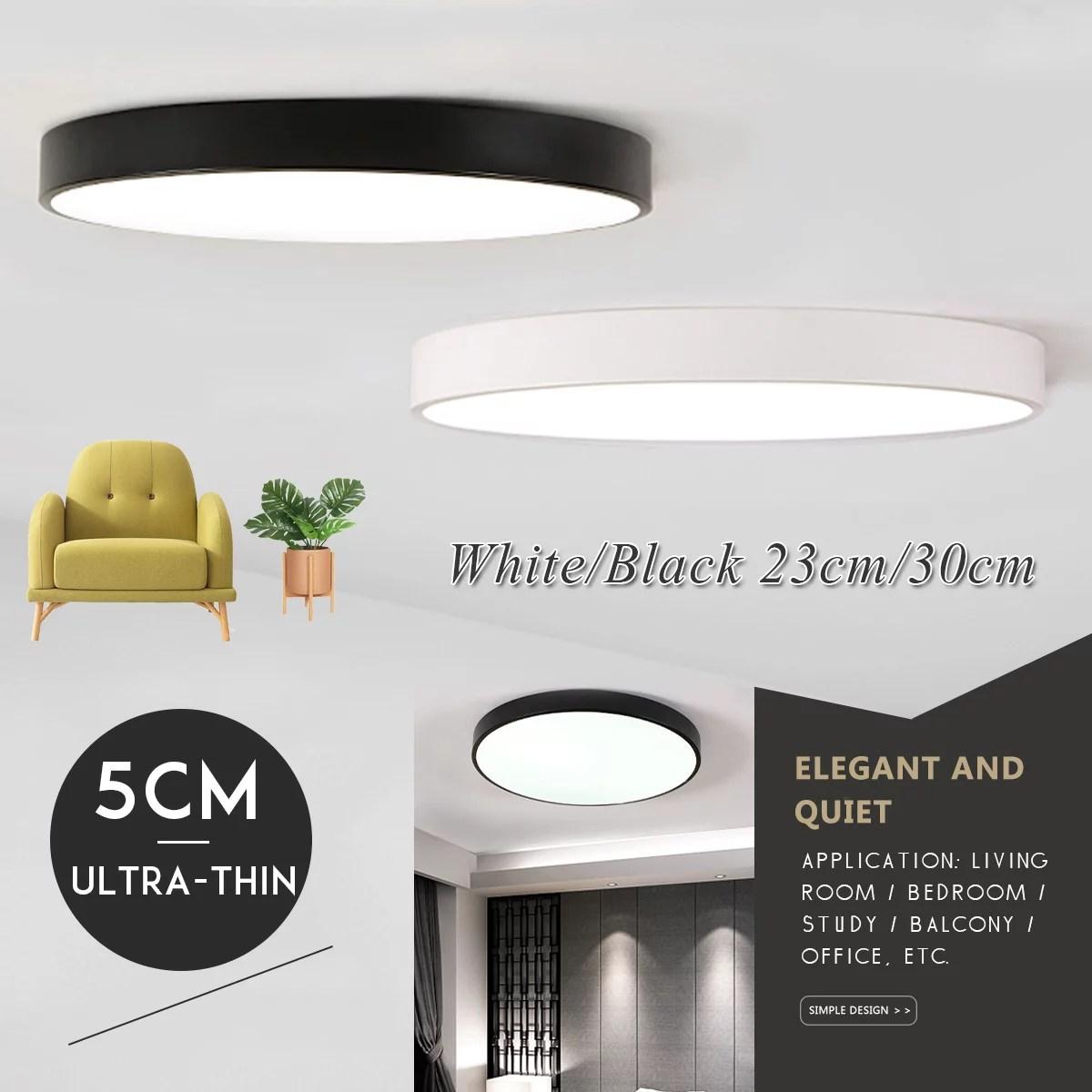 Led Flush Mount Ceiling Light Fixtures Clearance 9 Inch For Home Kitchen Bathroom Bedroom Living Room Lighting 6000k 6500k Walmart Com Walmart Com