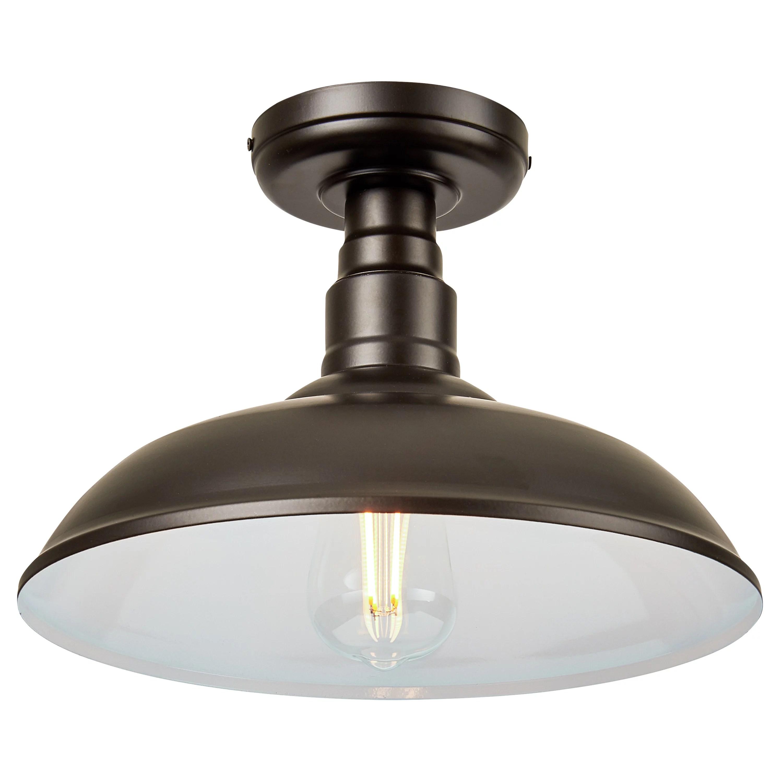better homes gardens semi flush mount ceiling light modern farmhouse oil rubbed bronze finish