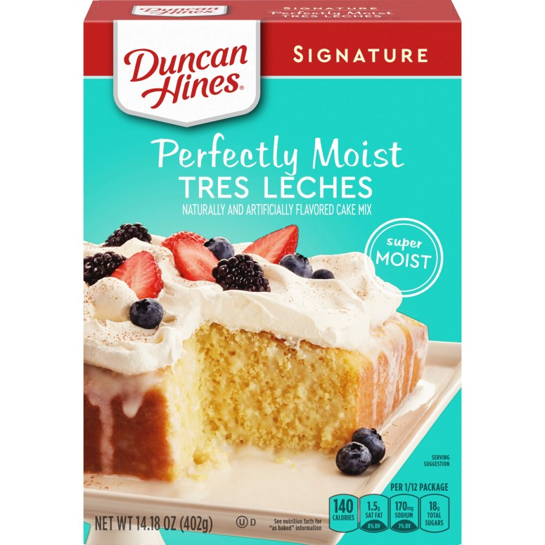 Image result for TRES LECHES CAKE IN INDIVIDUAL CONTAINER