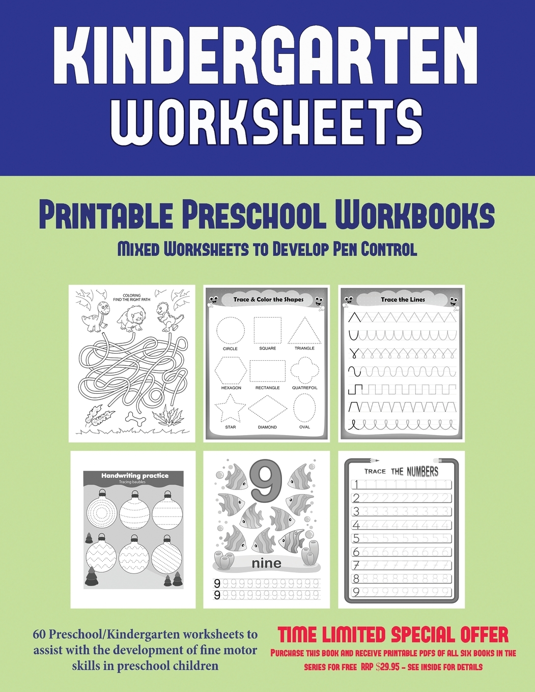 Printable Preschool Workbooks Printable Preschool