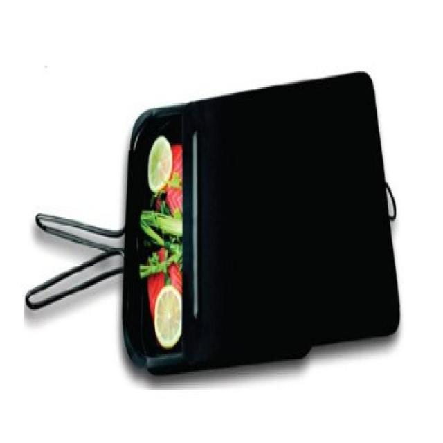 ZenUrban 870001 Stovetop Gourmet Nonstick Food Smoker and Steamer