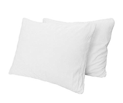 purelux gel cloud memory foam comfort pillows 2 pack