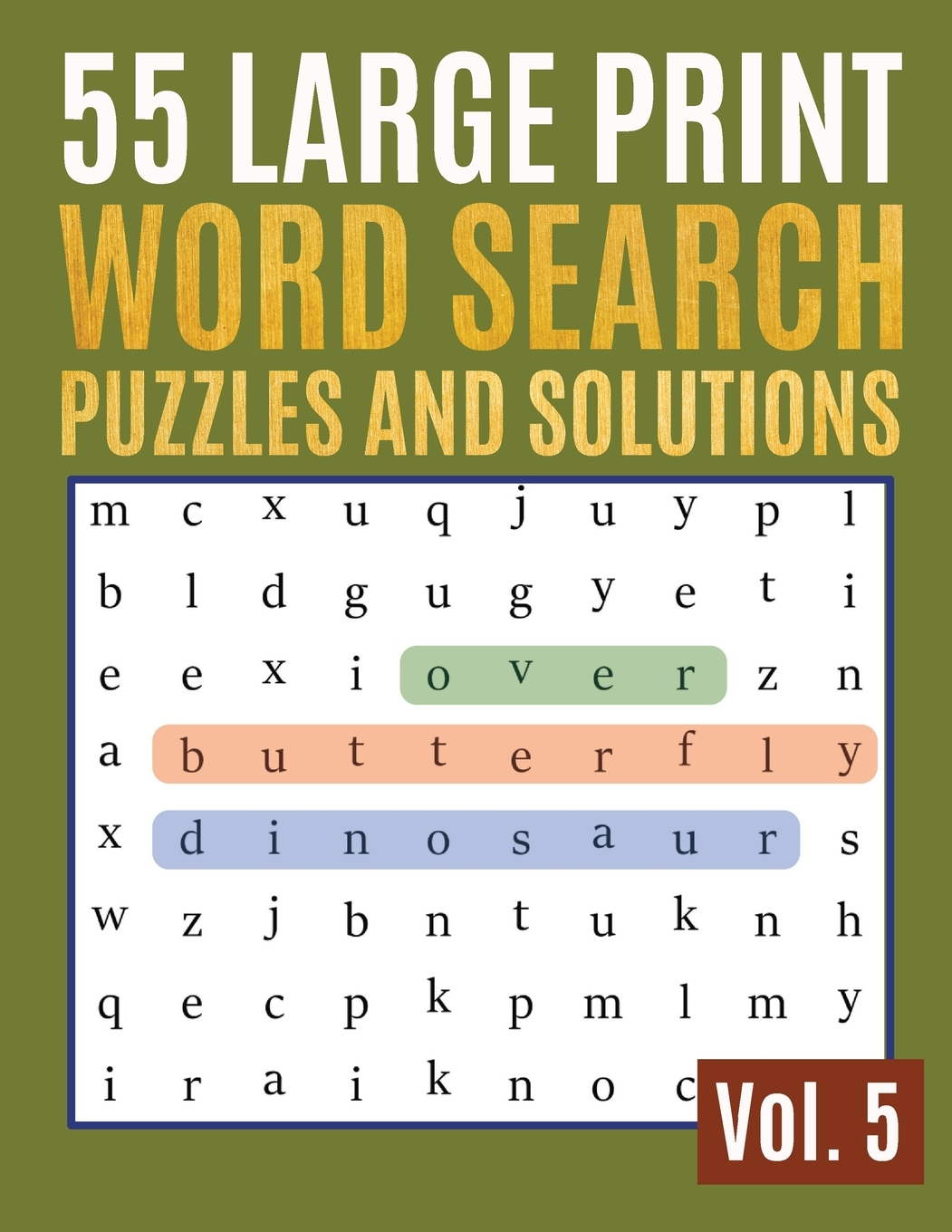 Find Words For Adults Amp Seniors 55 Large Print Word