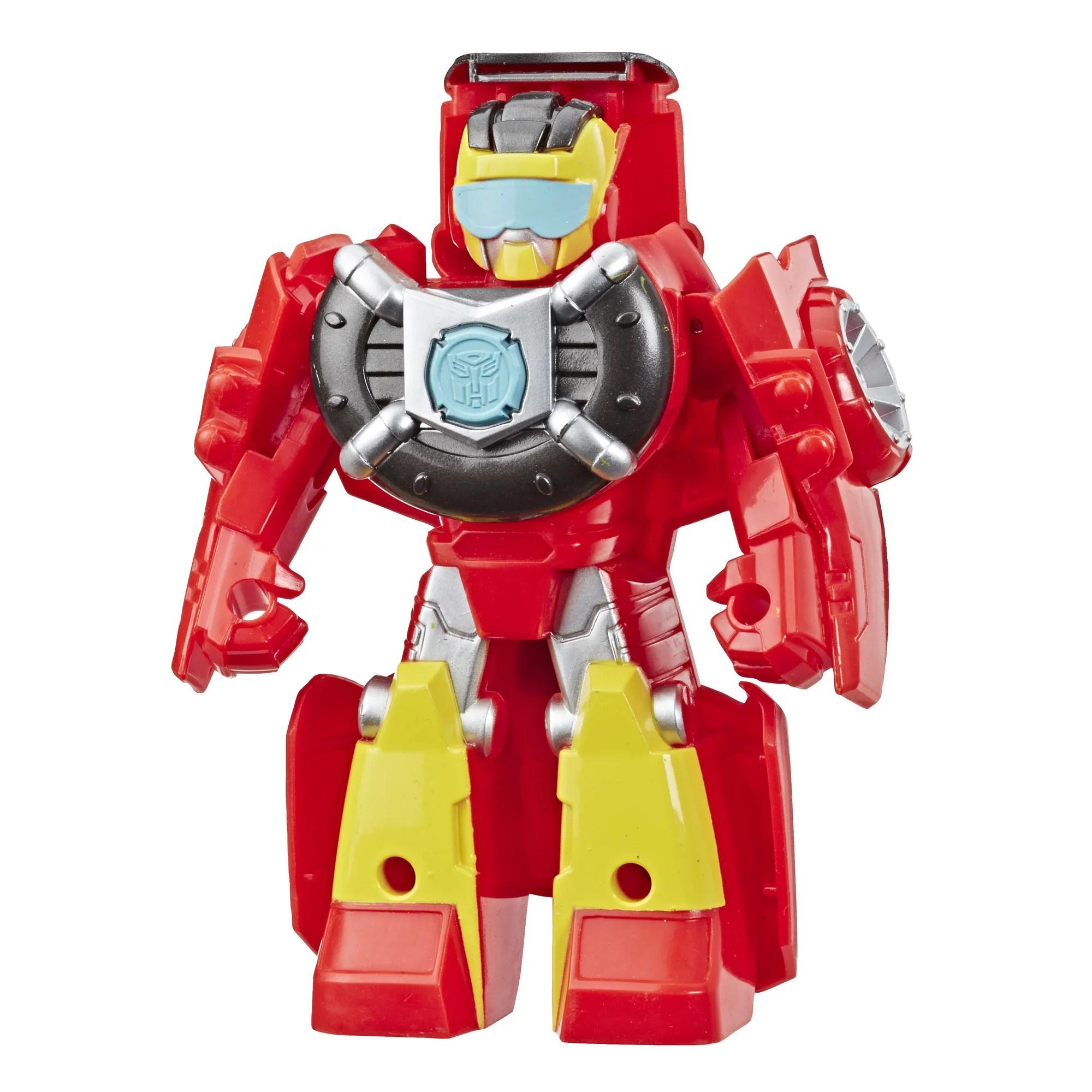 Playskool Heroes Transformers Rescue Bots Academy Hot Shot Walmart Com Walmart Com