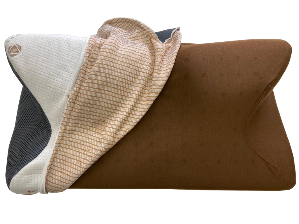carbon snorex copper 8 in 1 touch of copper cooling pillow