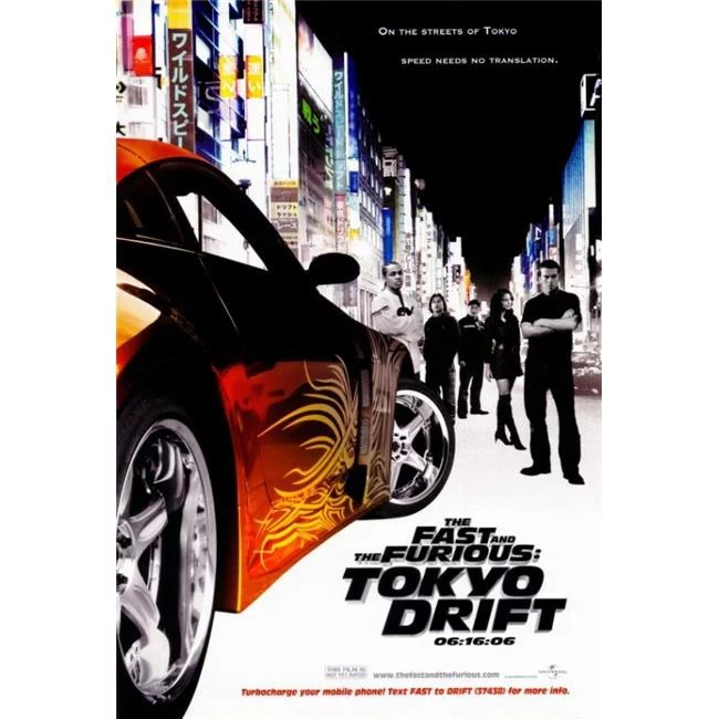 pop culture graphics movch6287 the fast the furious tokyo drift movie poster print 27 x 40