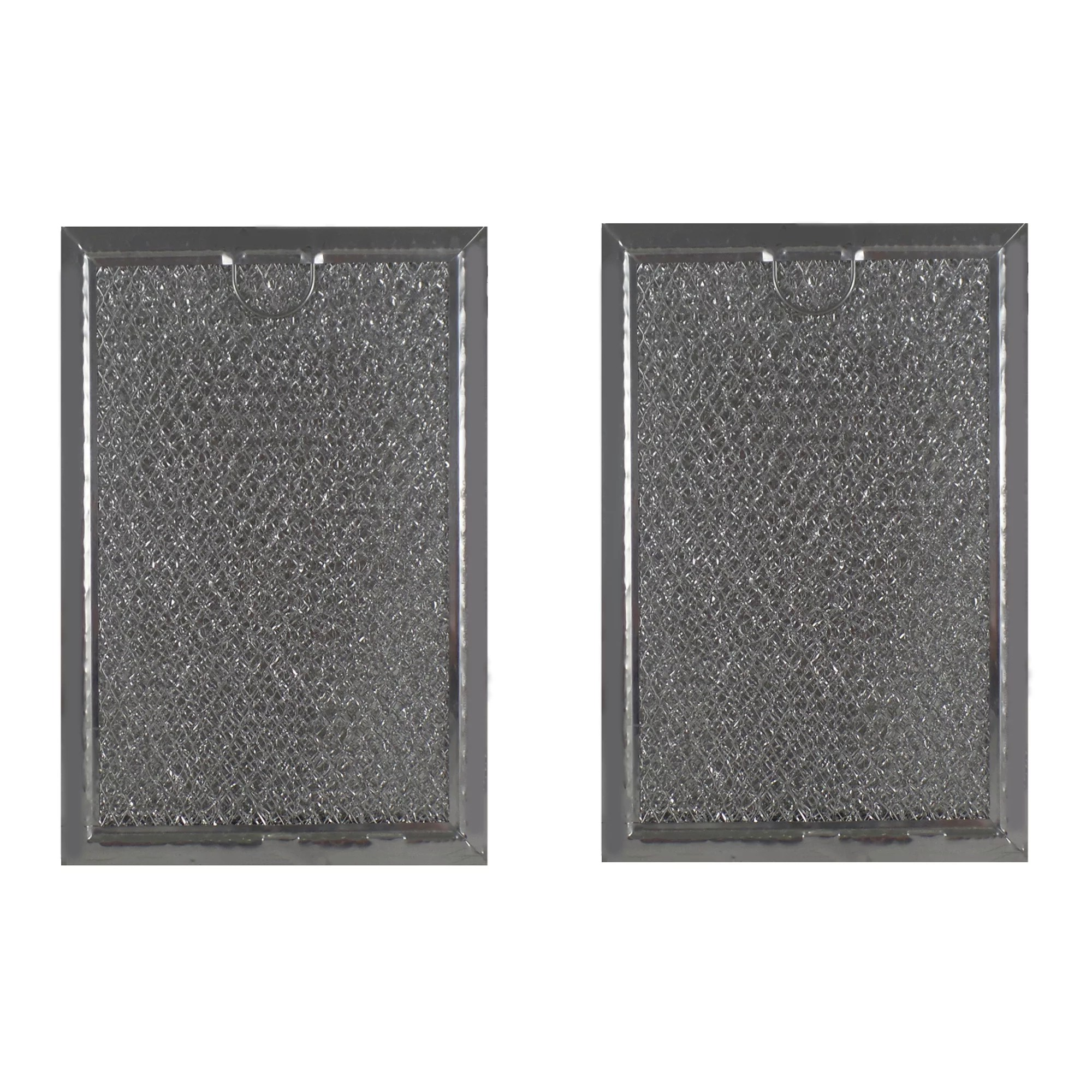 2 pack microwave hood grease filter to fit ge wb06x10359