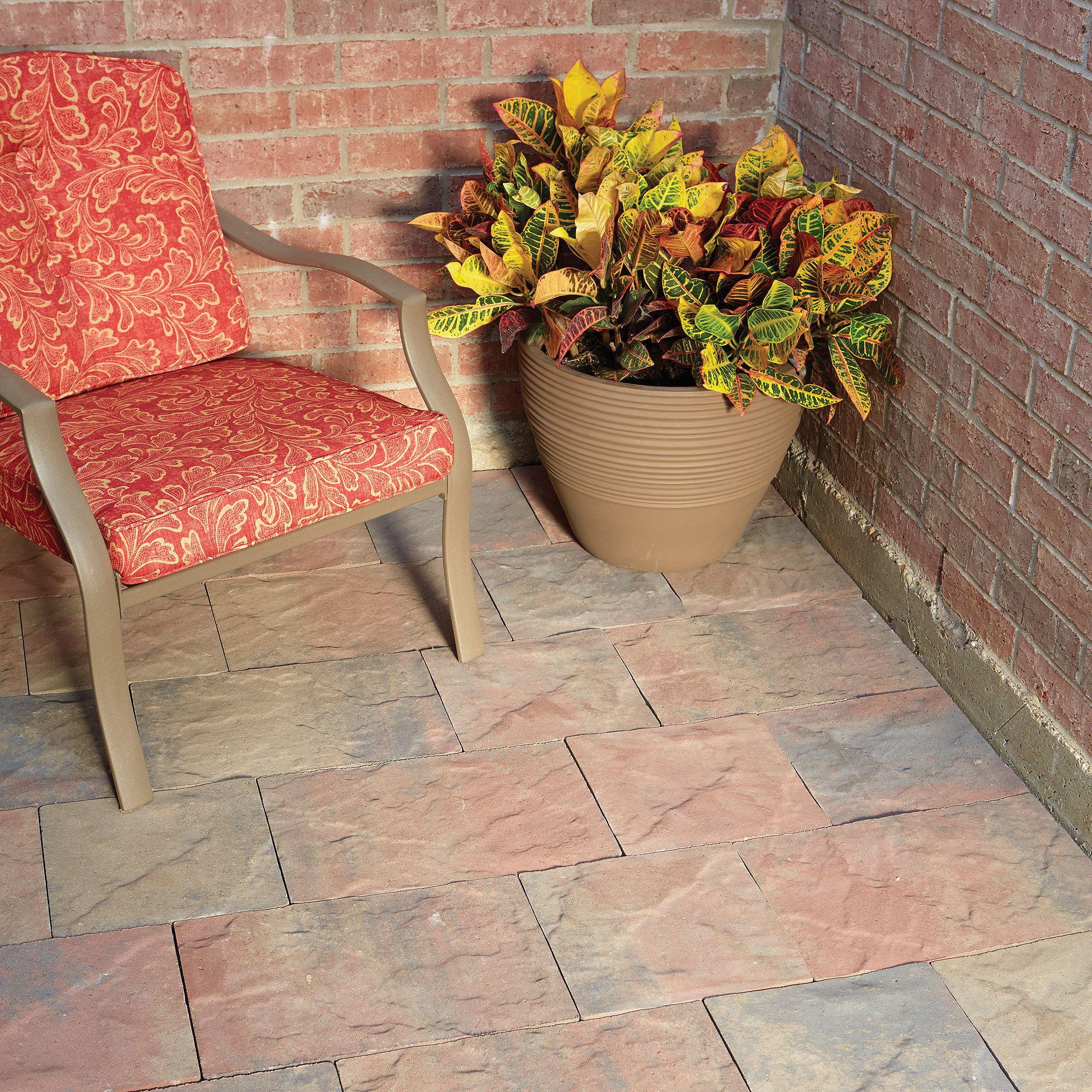 tuscan patio pavers winter blend