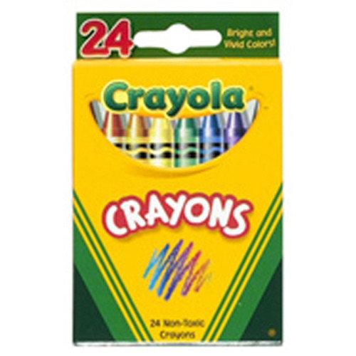 Crayola 24pk Crayons, $4.15
