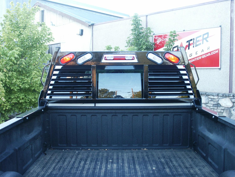frontier truck gear 110 20 7009 hd headache rack