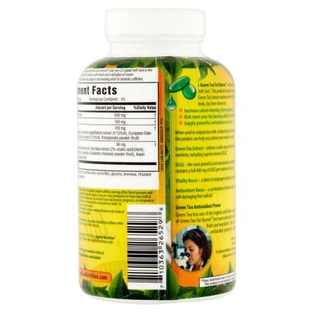 التغذية التطبيقية الخضراء الشاي الأخضر الدهون الموقد حبوب لتخفيف الوزن ، سريع اللدغة السائلة الناعمة ، 90 Ct التغذية التطبيقية الخضراء الشاي الأخضر الدهون الموقد حبوب لتخفيف الوزن ، سريع اللدغة السائلة الناعمة ، 90 Ct d8c23334 c17c 4ae8 8026 15d9466fb1c3 1