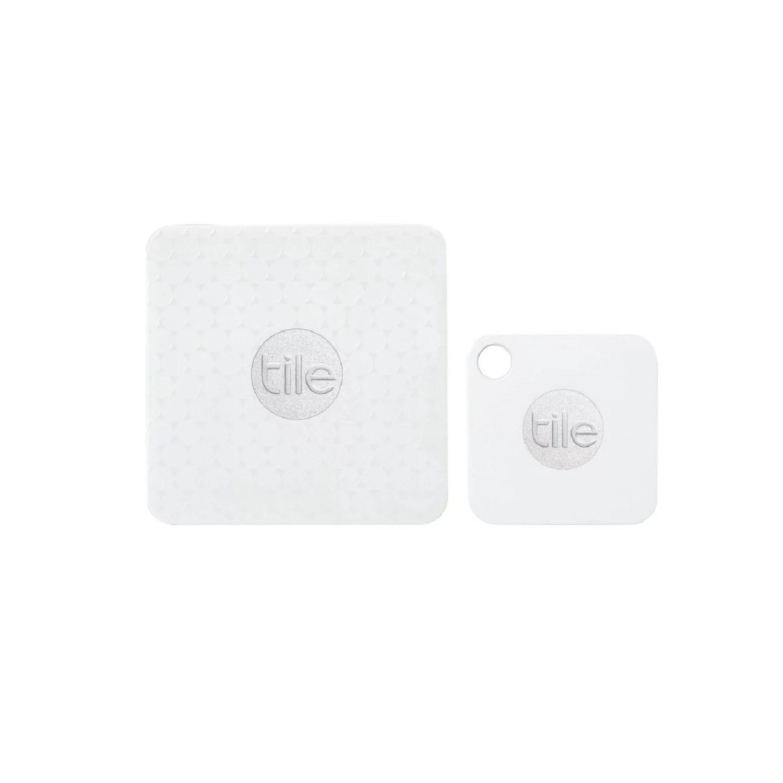 tile mate tile slim combo key finder phone finder anything finder 4 pack 2 tile mate 2 tile slim white walmart com
